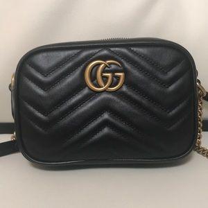 Gucci Matelasse Mini Black Camera bag